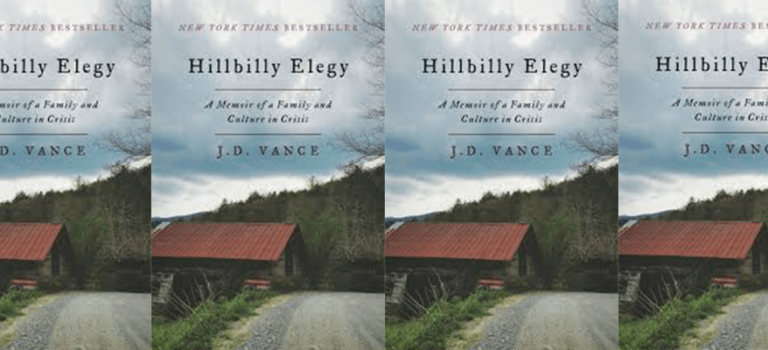 Book Review: Hillbilly Elegy by J.D Vance